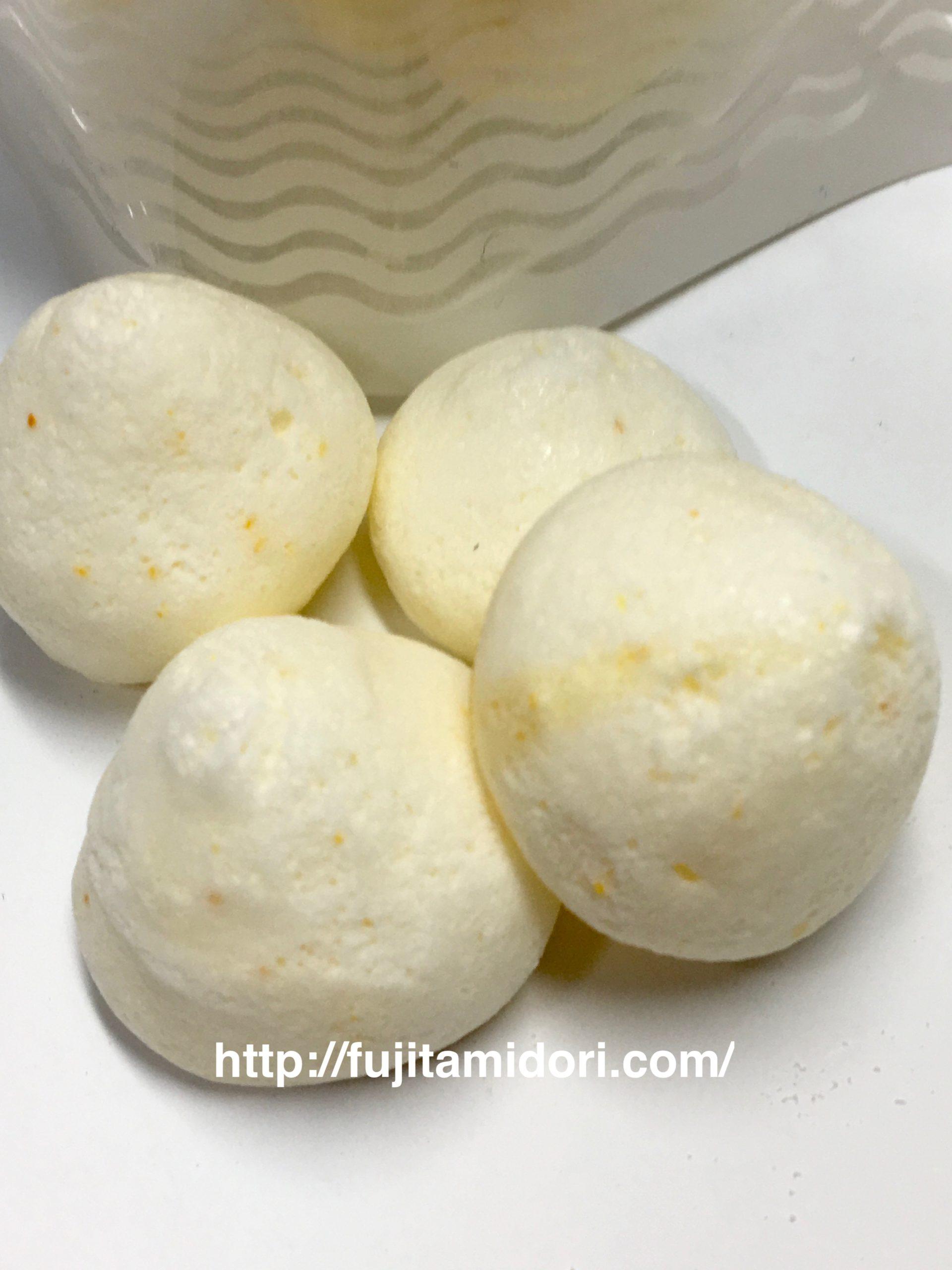【甘酒甘味】古町糀製造所『米麹と果実のメレンゲ(みかん)』(食べた感想)