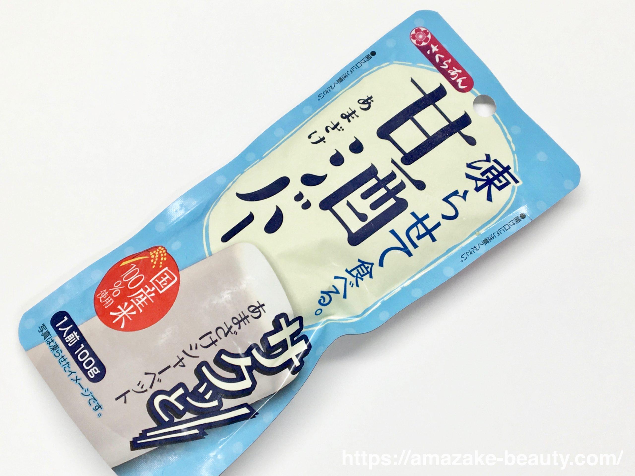 【甘酒甘味】谷尾食糧工業 『凍らせて食べる甘酒バー』
