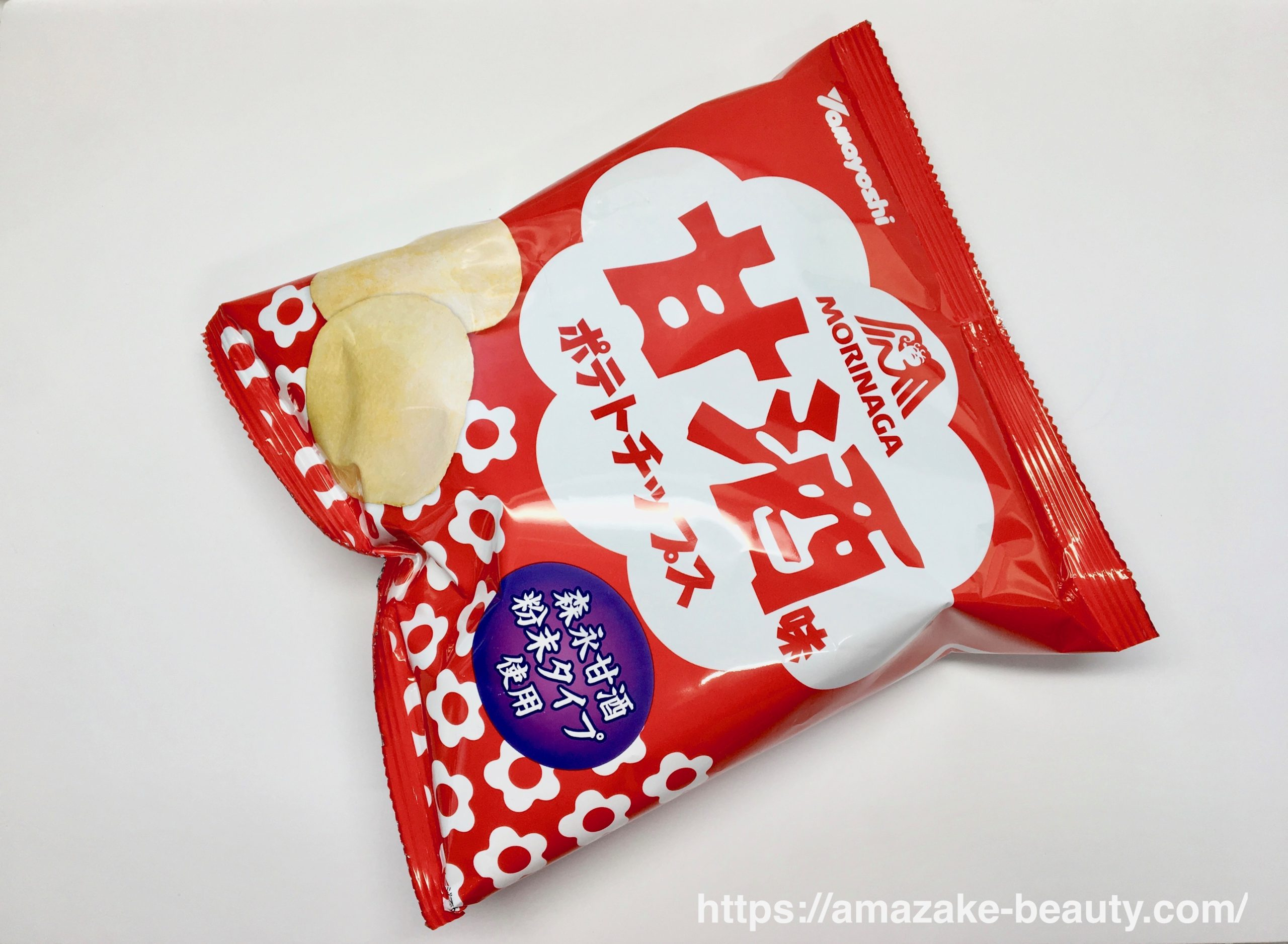 【甘酒甘味】山芳製菓『ポテトチップス甘酒味』