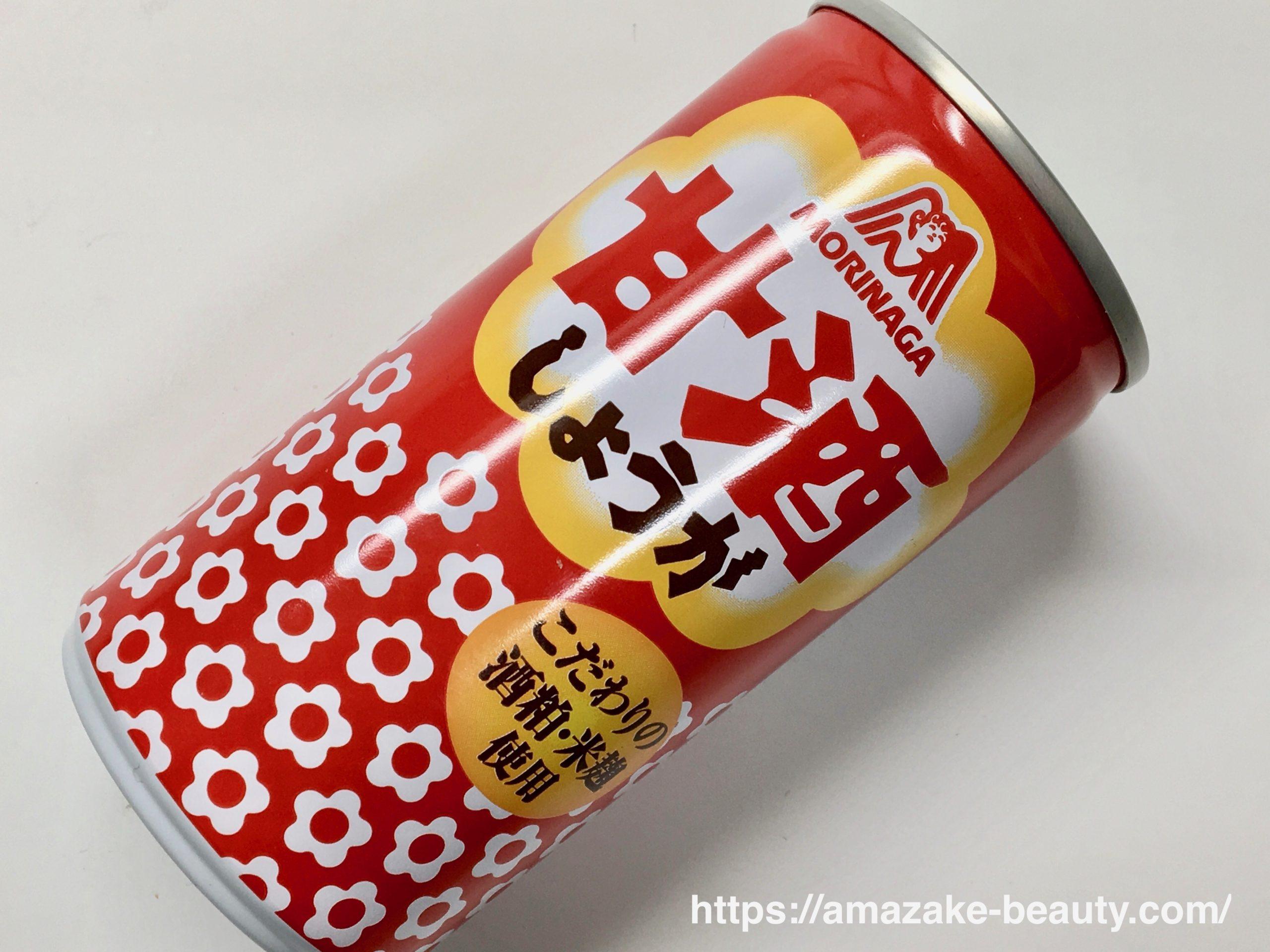 【甘酒】森永製菓『甘酒(しょうが)』