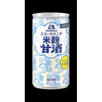 【甘酒新発売】森永製菓『スパークリング米麹甘酒』