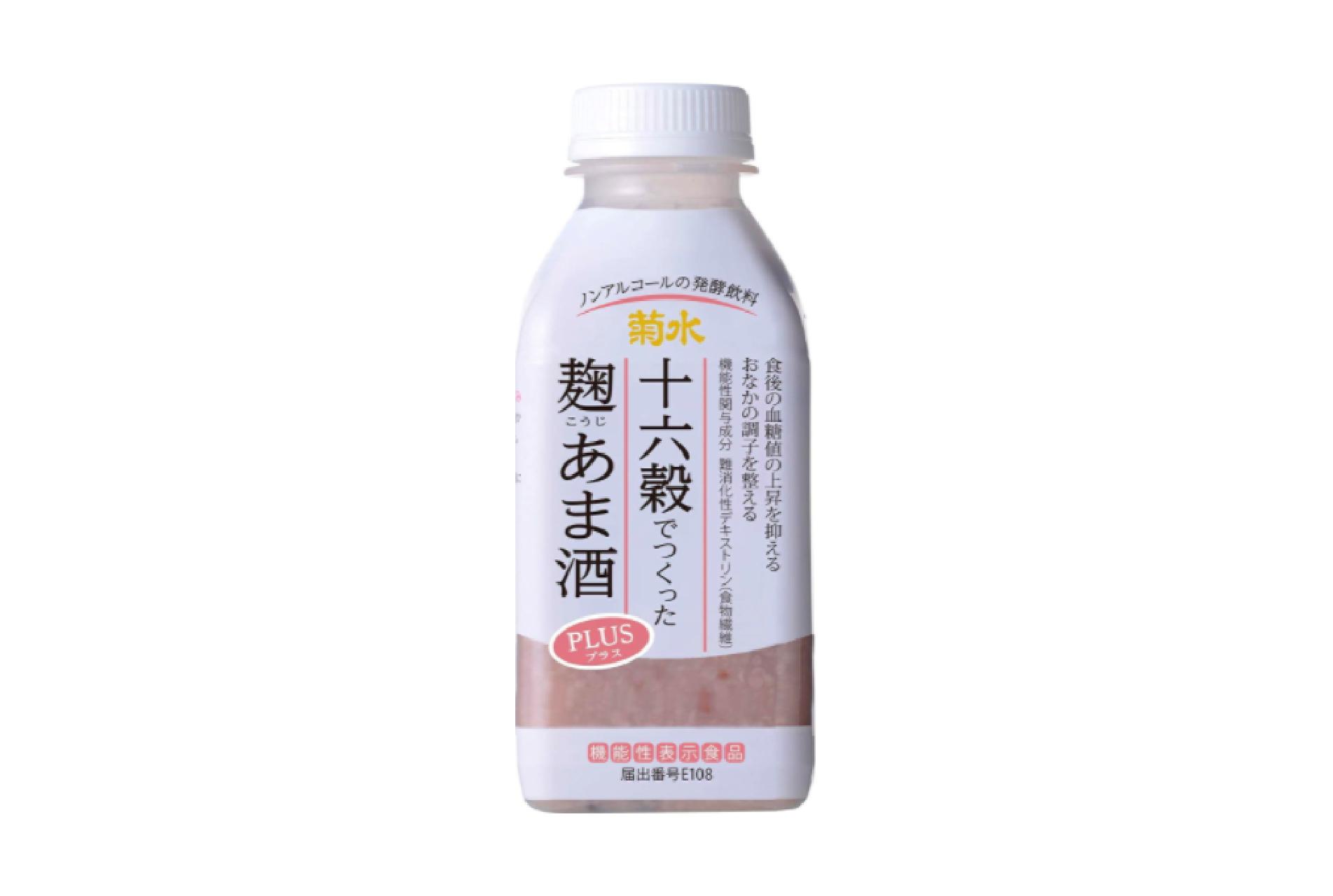 【甘酒新発売】菊水『十六穀でつくった麹あま酒PLUS』