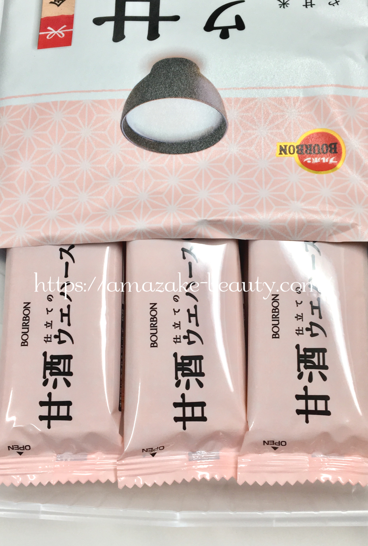 [amazake sweets]burubon[amazake jitate no uehasu]