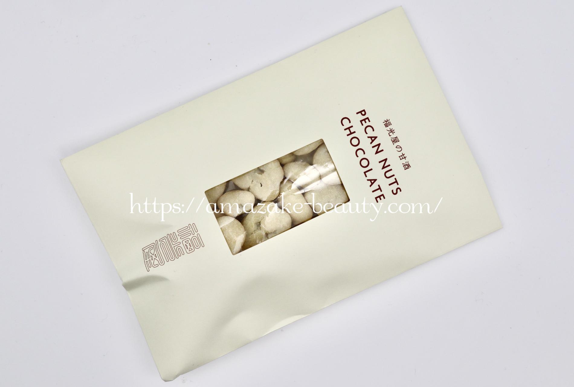 [amazake sweets]fukumitsuya[fukumitsuya no amazake pikannattsu chokoreto]
