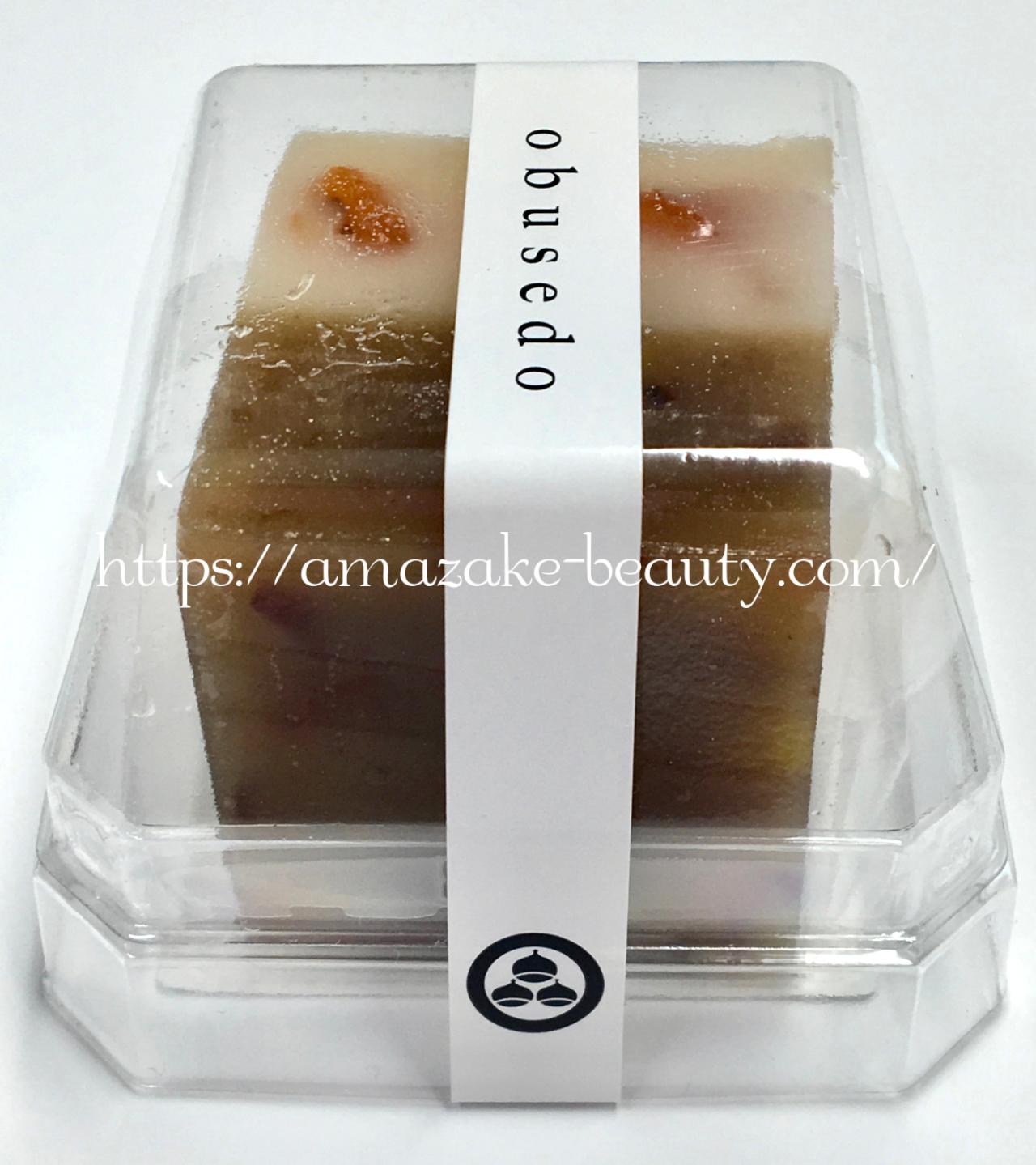 [amazake sweets]obusedo[amazake yokan to kuri yokan](design)